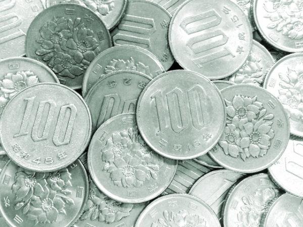 100円玉の写真(EC)